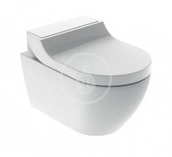 GEBERIT - AquaClean Elektronický bidet Tuma Comfort s keramikou, Rimfree, SoftClosing, alpská biela (146.292.11.1)