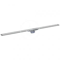 GEBERIT - CleanLine Nerezový sprchový kanálik, 300-900 mm, tmavý kov (154.450.00.1)
