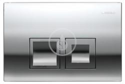GEBERIT - Delta Ovládacie tlačidlo DELTA50, lesklý chróm (115.135.21.1)