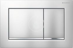 GEBERIT - Omega30 Ovládacie tlačidlo OMEGA30, chróm mat/lesklý chróm (115.080.KN.1)