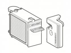 GEBERIT - Příslušenství Zásuvka s filtrom na jednotku odsávania zápachu DuoFresh (243.970.00.1)