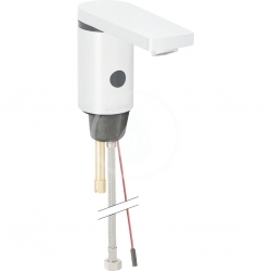 GEBERIT - Public Elektronická umývadlová batéria, bez zmiešavača, bez sieťového zdroja, pochrómovaná lesklá (116.436.21.1)