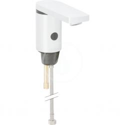 GEBERIT - Public Elektronická umývadlová batéria, bez zmiešavača, napájanie z batérie, pochrómovaná lesklá (116.236.21.1)