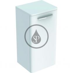 GEBERIT - Selnova Square Bočná spodná skrinka 654x330x280 mm, 1 dvierka, lesklá biela (500.181.01.1)