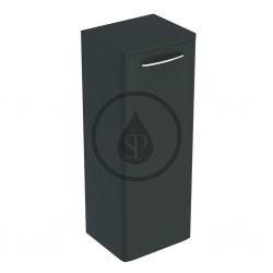 GEBERIT - Selnova Square Bočná spodná skrinka 866x330x280 mm, 1 dvierka, lávová mat (501.392.JK.1)
