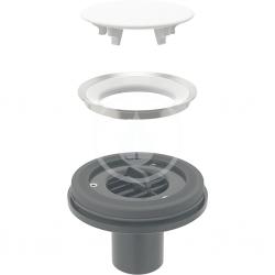 GEBERIT - Setaplano Odtoková súprava na sprchové vaničky, bez sifónu, inštalácia cez podlahu (154.032.00.1)