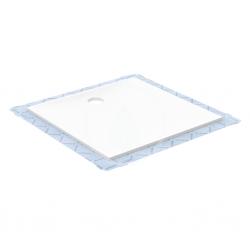 GEBERIT - Setaplano Plochá sprchová vanička, minerálny materiál, 800x1500 mm, biela (154.267.11.1)