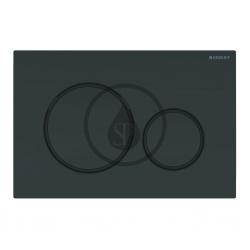 GEBERIT - Sigma20 Ovládacie tlačidlo na 2 množstvá splachovania, čierna/čierna mat (115.882.DW.1)