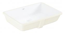GROHE - Cube Ceramic Umývadlo vstavané, 492mm x 370 mm, PureGuard, alpská biela (3948000H)