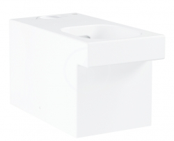 GROHE - Cube Ceramic WC misa kombi, rimless, PureGuard, alpská biela (3948400H)