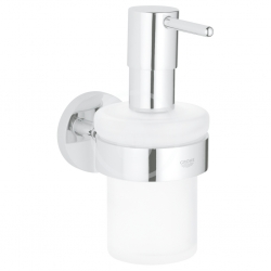 GROHE - Essentials Dávkovač tekutého mydla s držiakom, chróm (40448001)