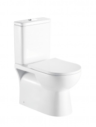 HOPA - Kombi WC PROGETTO RIMLESS sa SLIM sedadlom Soft-close (OLKLT2131AR)