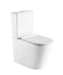 HOPA - Kombi WC Robusty RIMLESS sa SLIM sedadlom Soft-close (OLKLT2125A)