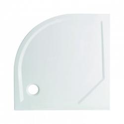 HOPA - Štvrťkruhový sprchovací box GRANADA - Farba rámu zásteny - Hliník chróm, Rozmer A - 90 cm, Rozmer B - 90 cm, Vanička HL - Vanička z liateho mramoru (OLBGRA90CMBV + VANKSOF90NNEW)