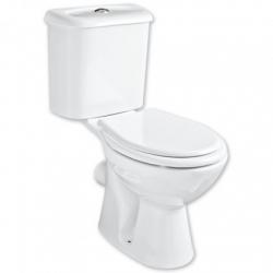 HOPA - WC kombi CARMINA - zadný odpad - WC sedátko - Sedadlo - polypropylén (OLKGCA04KLZ02M + OLKGYM00PLS05)