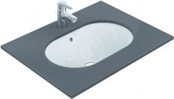 IDEAL STANDARD - Connect Umývadlo pod dosku, 620x410mm, s prepadom, biela (E505001)