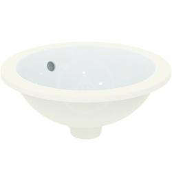 IDEAL STANDARD - Connect Umývadlo pod dosku, priemer 380mm, s prepadom, biela (E505201)