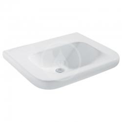 IDEAL STANDARD - Contour 21 Umývadlo pre telesne postihnutých 650mmx175mmx555mm (bez otvoru na batériu a bez prepadového otvoru), biela s Ideal plus (S2534MA)