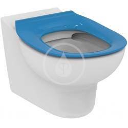 IDEAL STANDARD - Contour 21 WC sedadlo detské 7 – 11 rokov (S3128 a S3126) bez poklopu, modrá (S454536)