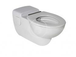 IDEAL STANDARD - Contour 21 Závesné WC pre ľudí s telesným postihnutím, s hlbokým splachovaním, 360x400x700mm, RIMLESS, biela (S306901)