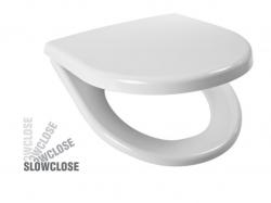 JIKA - Lyra plus Sedadlo, 365mmx405mm, biele – sedadlo, s poklopom, plastové úchytky, SLOW CLOSE (H8933813000001)