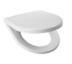 JIKA - Lyra plus Sedadlo, 365mmx405mm, biele – sedadlo, s poklopom, úchytky z nehrdzavejúcej ocele (H8933803000631)