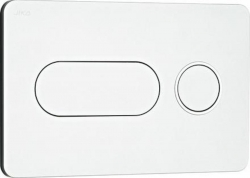 JIKA - Modul Ovládacie tlačidlo PL8 dual flush, matný chróm (H8936460070001)