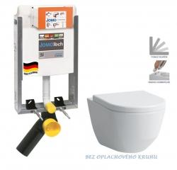 JOMO modul pre zamurovanie bez sedátka + WC LAUFEN PRO RIMLESS + SEDADLO (164-14600479-00 LP1)