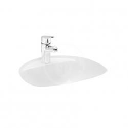 Laufen - Bijou Vstavané umývadlo, 450x405mm, 1 otvor na batériu, biela (H8112200000001)