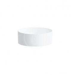 Laufen - Living Umývadlová misa, 380mmx380mm, biela – bez prepadu, bez otvoru na batériu (H8114350001121)