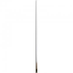 MEXEN - LIMA, ROMA, PRETORIA montážnymi zostava - bočné lišty + magnetická lišta, chróm, (850-00-01)