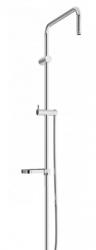 MEXEN - Sprchová souprava X, hladká hadica 150cm, mydlovnička, chróm (79391-00)