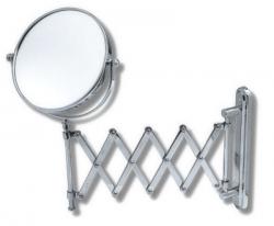 NOVASERVIS - Kozmetické zrkadlo zväčšovacie vyťahovacie chróm (6968,0 II.)