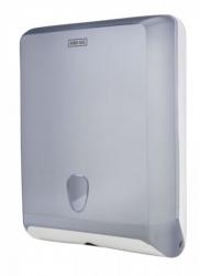 Ostatní - AND GO Zásobník na skladané uteráky Maxi A4s priehľadná / biela 40006010 (40006010)