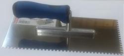 Ostatní - Hladidlo antikorové zubaté E4x4x4 280 x 130 x 0,75 ALU-SOFTGRIF STANDARD (BAT / 062-3)