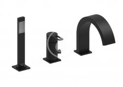 PAFFONI - Ringo Batéria na okraj vane, 3-otvorová inštalácia, matná čierna (RIN040LNO)