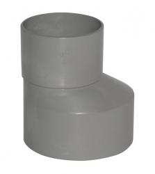 Plast Brno - PVC redukcia 110/50 excentr. 84348 (84348)