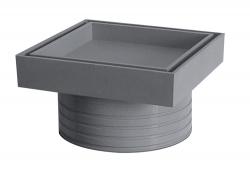 Plast Brno - Rám podlahové vpusty 50 pre vloženie dlažby NSI008D (NSI008D)