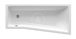 RAVAK - BeHappy II Vaňa asymetrická 1600x750 mm, ľavá, biela (C961000000)