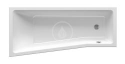 RAVAK - BeHappy II Vaňa asymetrická 1600x750 mm, pravá, biela (C971000000)