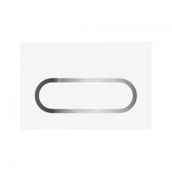 RAVAK - Chrome Ovládacie tlačidlo chróm/biela (X01455)