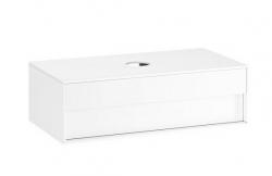 RAVAK - Step Umývadlová skrinka SD, 1000x540x305 mm, 1 zásuvka, biela/biela (X000001429)