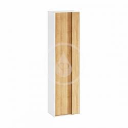 RAVAK - Step Vysoká skrinka SB, 430x290x1600 mm, biela/dub (X000001419)