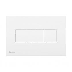 RAVAK - UNI Ovládacie tlačidlo Uni, na 2 množstvá splachovania, biela (X01457)