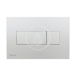 RAVAK - UNI Ovládacie tlačidlo Universal, satin (X01456)