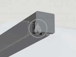 RAVAK - Walk-In W SET-100 Wall/Corner vzpera ,čierna (GWD010003019)