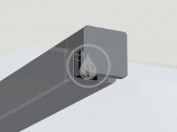 RAVAK - Walk-In W SET-80 Wall/Corner - vzpera ,čierna (GWD010003017)
