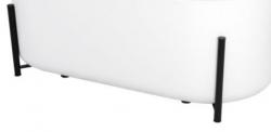 REA - Dekoratívne čierny podstavec pre vane Molto REA-W0600