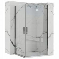 REA/S - Sprchovací kút Moliere dvere / dvere 90x90 (MOLDD090090)