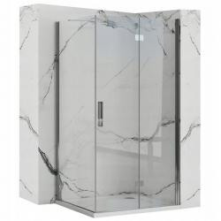REA/S - Sprchovací kút Moliere dvere / stena 90x90 (MOLDS090090)